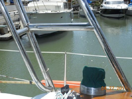 1979 mariner pilothouse motorsailer 50  18 1979 Mariner Pilothouse Motorsailer 50