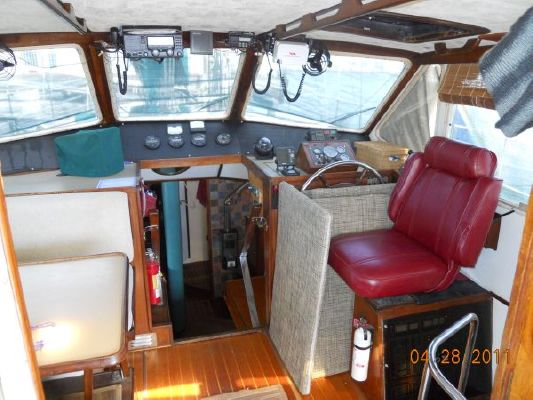 1979 mariner pilothouse motorsailer 50  19 1979 Mariner Pilothouse Motorsailer 50