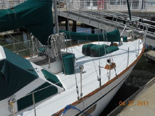 1979 mariner pilothouse motorsailer 50  2 1979 Mariner Pilothouse Motorsailer 50
