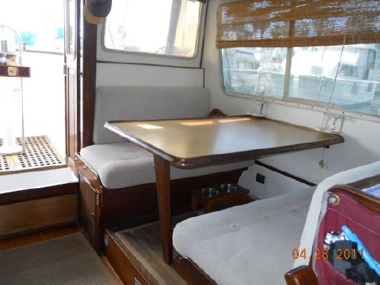1979 mariner pilothouse motorsailer 50  21 1979 Mariner Pilothouse Motorsailer 50