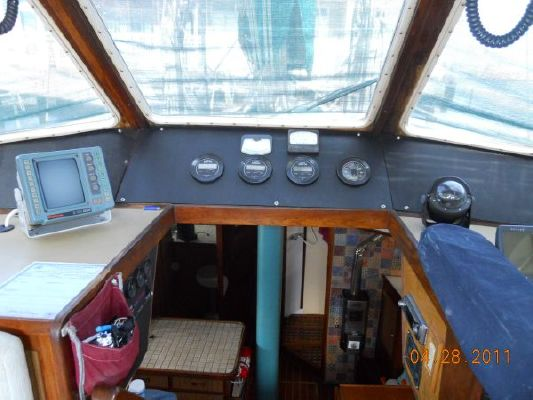 1979 mariner pilothouse motorsailer 50  22 1979 Mariner Pilothouse Motorsailer 50