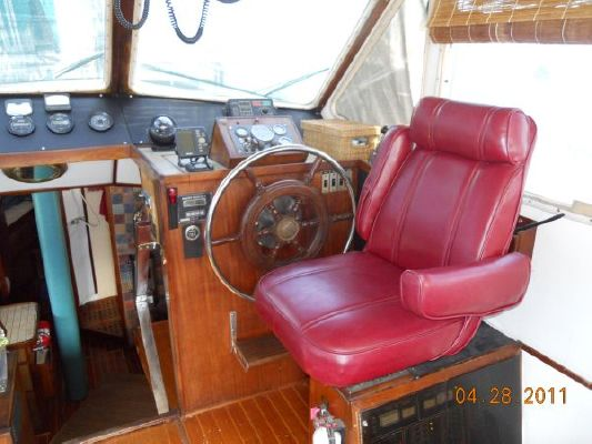 1979 mariner pilothouse motorsailer 50  23 1979 Mariner Pilothouse Motorsailer 50