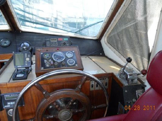1979 mariner pilothouse motorsailer 50  24 1979 Mariner Pilothouse Motorsailer 50