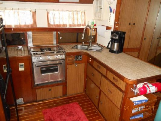 1979 mariner pilothouse motorsailer 50  26 1979 Mariner Pilothouse Motorsailer 50