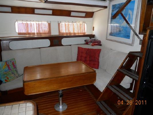 1979 mariner pilothouse motorsailer 50  30 1979 Mariner Pilothouse Motorsailer 50