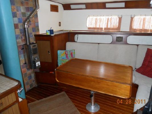 1979 mariner pilothouse motorsailer 50  31 1979 Mariner Pilothouse Motorsailer 50