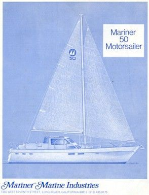 1979 mariner pilothouse motorsailer 50  56 1979 Mariner Pilothouse Motorsailer 50