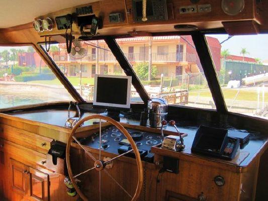 Matthews Flush Deck Motor Yacht 1979 All Boats
