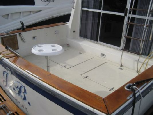 Burns Craft Flybridge 1980 Flybridge Boats for Sale