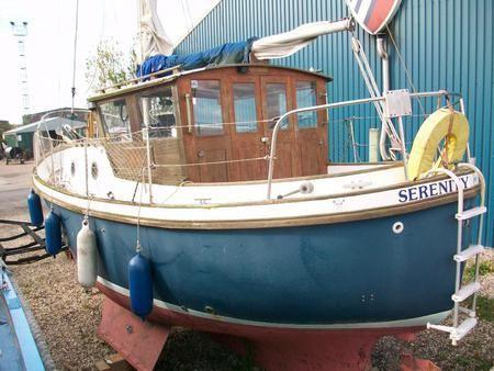 Boats for Sale & Yachts Colvic Weston Marine 26 Motorsailer 1980 Sailboats for Sale