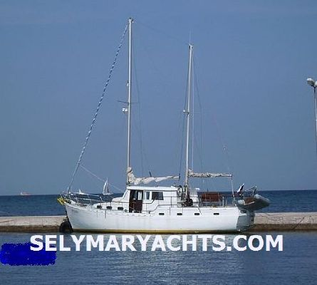 Motor Sailer 46 Ketch 1980 Ketch Boats for Sale