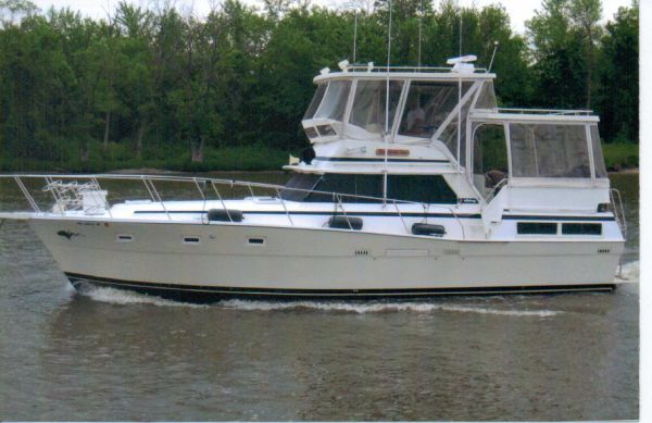 1980 viking 43 double cabin w hardtops boats yachts for for Viking 43 double cabin motor yacht