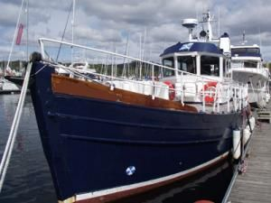 wooden Pilot boat 45 1980 Ketch Boats for Sale