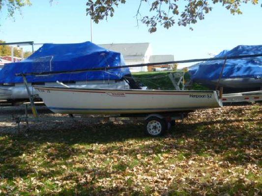 Boston Whaler 5.2 Harpoon Sailboat 1981 Boston Whaler Boats