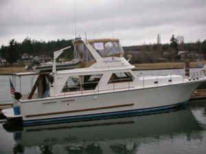 Canoe Cove Sedan Fly Bridge 1981 All Boats