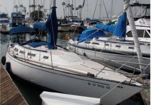 1981 Catalina 38 Catalina Sloop Boats Yachts For Sale