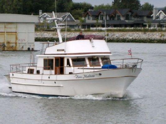 CHB TRI CABIN TRAWLER 1981 Trawler Boats for Sale
