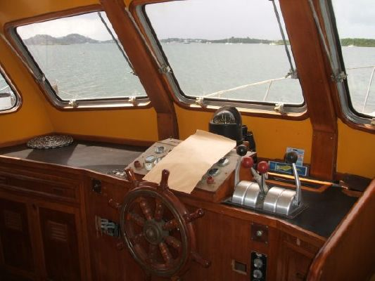 Cheoy Lee 50' Europa Pilothouse 1981 Cheoy Lee for Sale Pilothouse Boats for Sale
