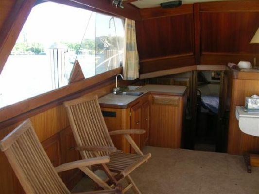 Egg Harbor 40' Sedan Bridge 1981 Egg Harbor Boats for Sale