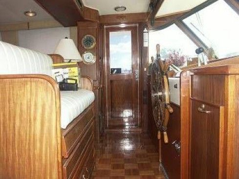 Hatteras Cockpit Motor Yacht 1981 Hatteras Boats for Sale
