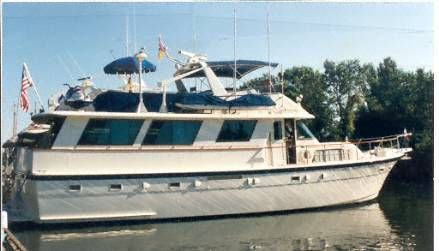 1981 hatteras widebody motoryacht  1 1981 Hatteras widebody motoryacht