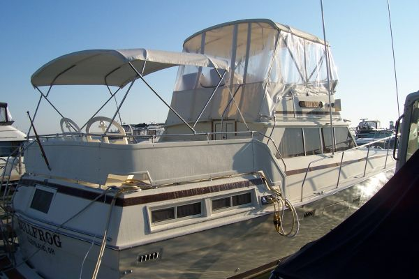 1981 viking double cabin boats yachts for sale for Viking 43 double cabin motor yacht