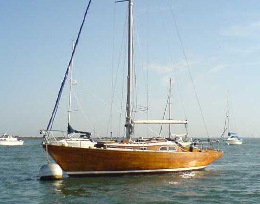Classic Yacht Brazilian Hardwood Sloop 1982 Sloop Boats For Sale
