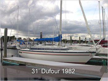 1982 dufour 31 sail  1 1982 Dufour 31 Sail