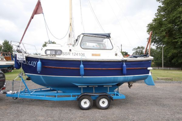 Hardy Navigator 18 Motorsailer 1982 Sailboats for Sale