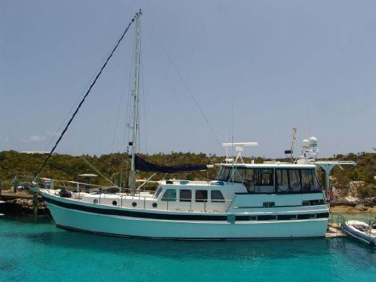 Vripack Yachts Doggersbank Longe Range Trawler 57 1982 Trawler Boats for Sale