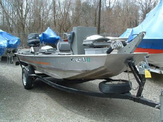 Bass Tracker Used 16' CC Jet Sled 1983 Bass Boats for Sale Jet Boats for Sale Sun Tracker Boats for Sale