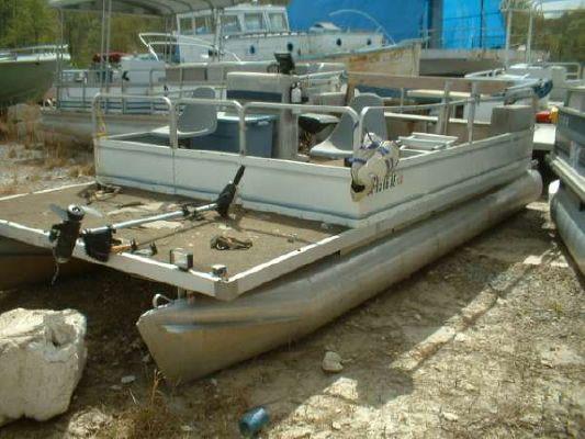 Kayot 20 Fishing Pontoon 99 Mercury 25 1983 Pontoon Boats for Sale