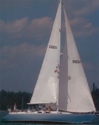 1983 morgan nelson marek 454 k cb sloop owner will consider smaller boat in trade  1 1983 Morgan Nelson Marek 454 K/CB Sloop (OWNER WILL CONSIDER SMALLER BOAT IN TRADE)