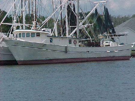 Shrimp Trawler Fishing boat Longliner, 1983 Trawler Boats for Sale
