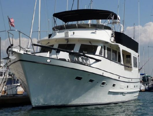 1984 angel pilothouse motor yacht boats yachts for sale for Angel boats and motors