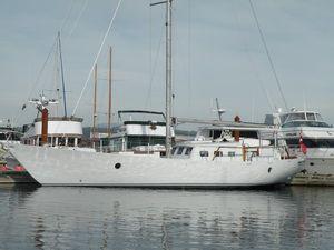 Chuck Burchill Motor Sailer 1984 All Boats