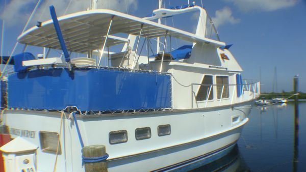 Defever Offshore Trawler 1984 Trawler Boats for Sale
