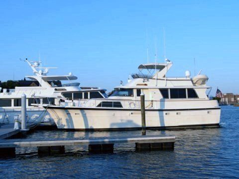Hatteras 53 Extended Deckhouse Motoryacht 1984 Hatteras Boats for Sale