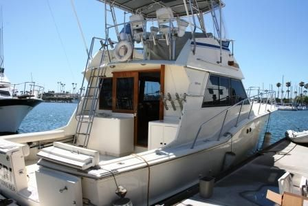 Hatteras Convertible 1984 Hatteras Boats for Sale
