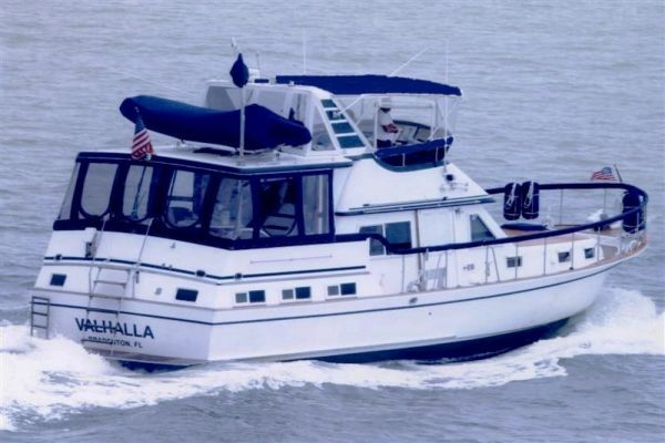Marine Trader LaBelle Sundeck Trawler 1984 Trawler Boats for Sale