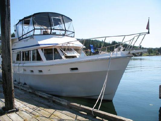 Ponderosa Motor Yacht with Cockpit 1984 All Boats