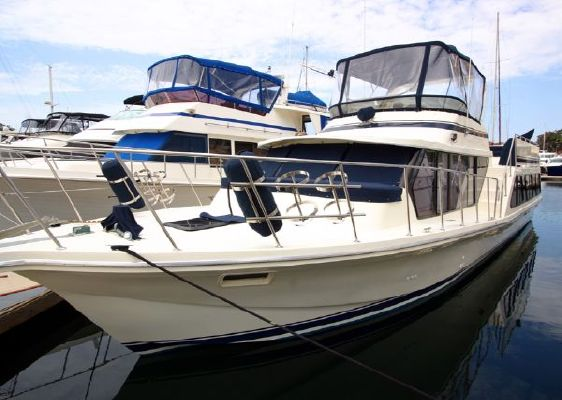 Bluewater 1985 Virtual Tours! Coastal Cruiser 1985 51' Bluewater Boats for Sale