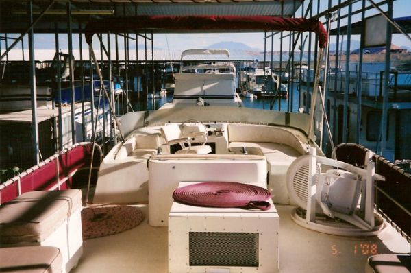 1985 Boatel Flybridge Pontoon Houseboat Boats Yachts For