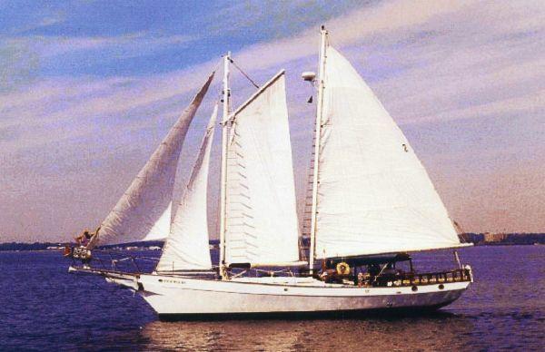 Boats for Sale & Yachts CUSTOM BUILT Steel Schooner 1985 Schooner Boats for Sale