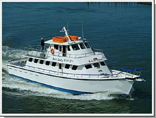 1985 dmr yachts charter party passenger fishing boat  1 1985 DMR Yachts Charter Party Passenger Fishing Boat