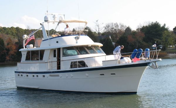 Hatteras 53 ED Motor Yacht (Stabilized) 1985 Hatteras Boats for Sale