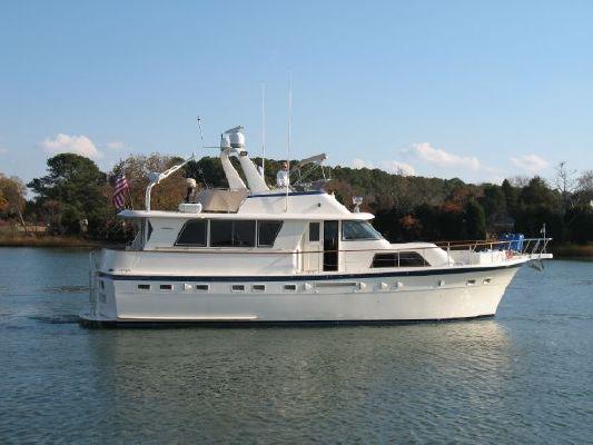 1985 Hatteras 53 Ed Motor Yacht Stabilized Boats