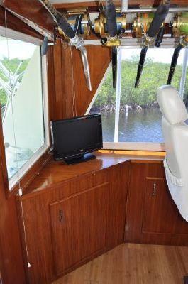 Hatteras Enclosed Bridge 1985 Hatteras Boats for Sale