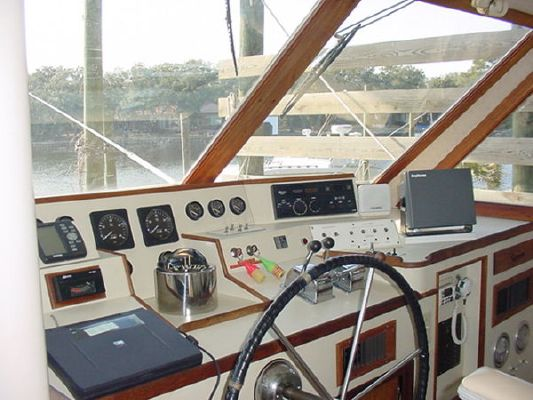 Huckins Custom Pilothouse 1985 Pilothouse Boats for Sale
