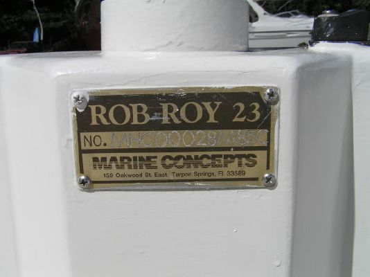1985 marine concepts rob roy pocket yawl  8 1985 Marine Concepts Rob Roy Pocket Yawl